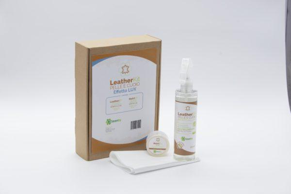 LeatherKit pelle cuoio effetto lux open
