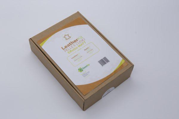 LeatherKit pelle cuoio effetto matt